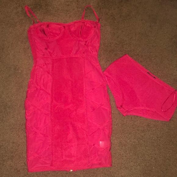 Fashion Nova Dresses & Skirts - Fashion Nova Red Bandage Dress